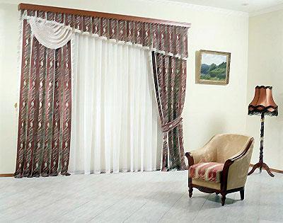 Как повесить шторы на окна красиво